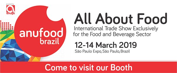 ANUFOOD BRAZIL | Food and beverage trade fair | I'm an exhibitor